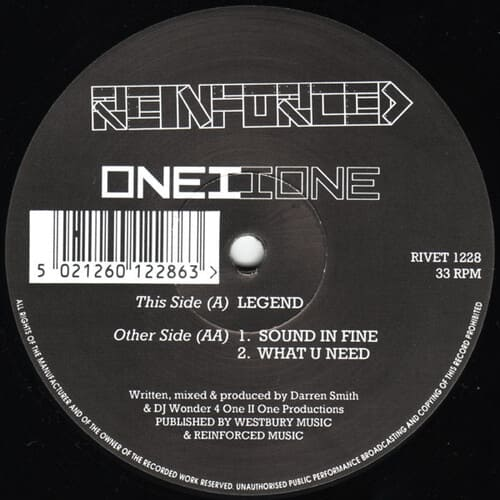 Download One II One - Legend / Sound In Fine / What U Need mp3