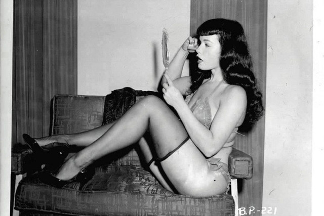 Bettie-Page-by-Irving-Klaw