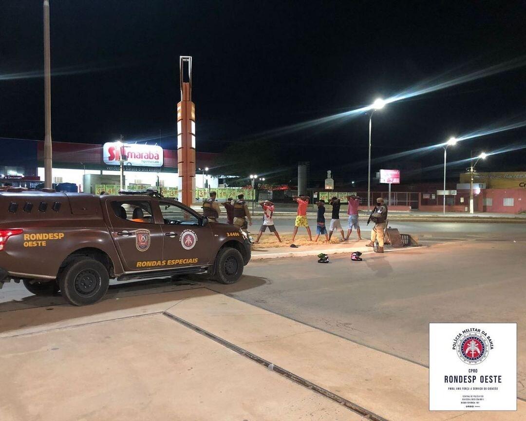 Barreiras: RONDESP OESTE realiza operação visão noturna