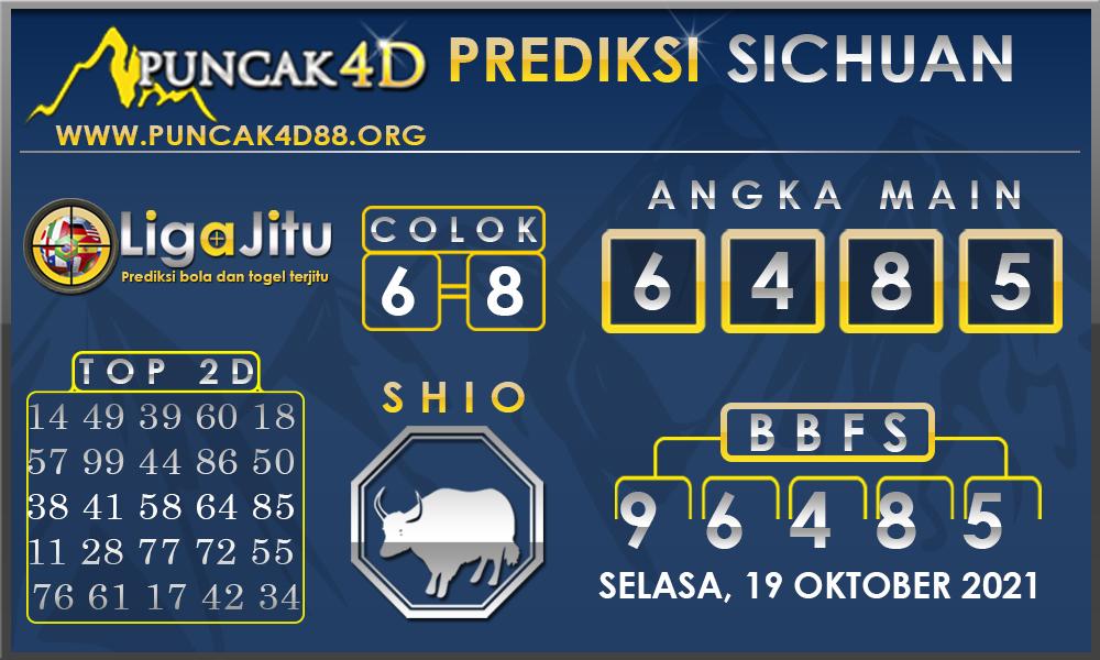 PREDIKSI TOGEL SICHUAN PUNCAK4D 19 OKTOBER 2021