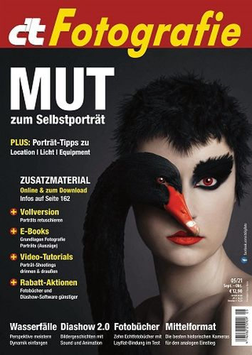 Cover: ct Digitale Fotografie Magazin September-Oktober No 05 2021