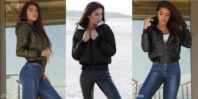женская куртка бомбер фото