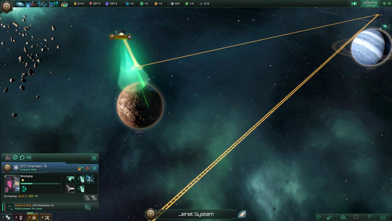 Скриншот Stellaris: Galaxy Edition [v 2.2.7 + DLC] (2016) RePack от xatab скачать торрент бесплатно