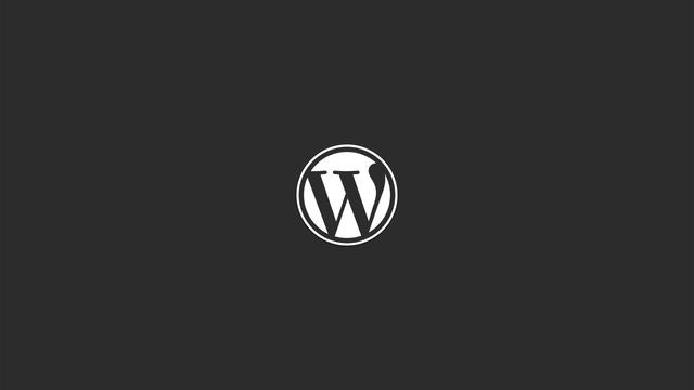 wordpress-logo-wallpaper-background