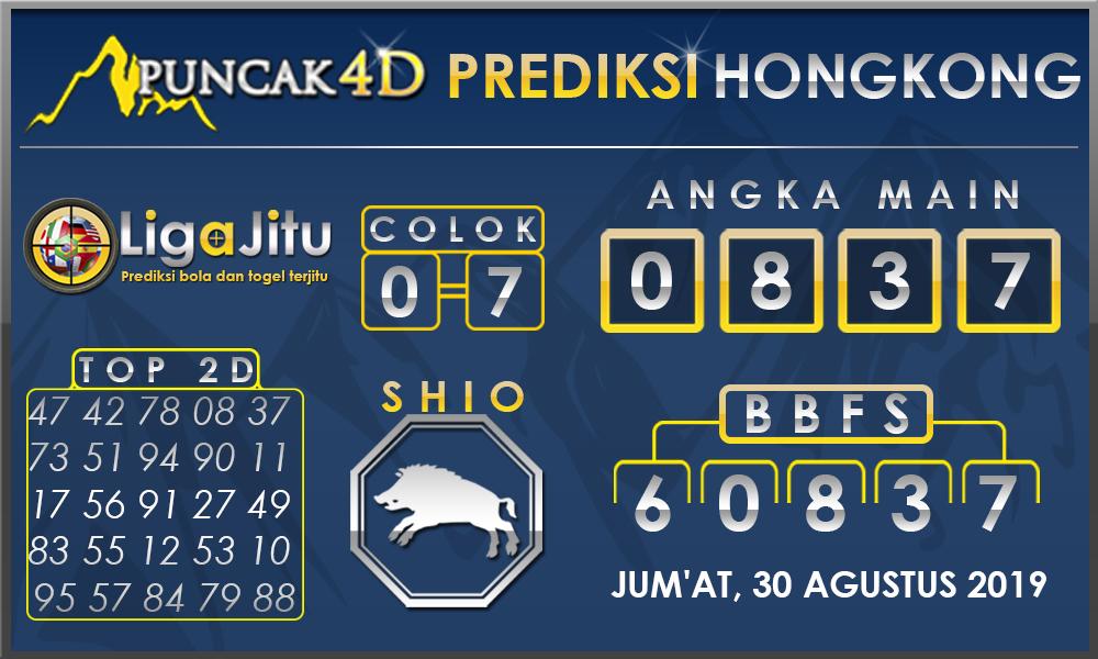PREDIKSI TOGEL HONGKONG PUNCAK4D 30 AGUSTUS 2019
