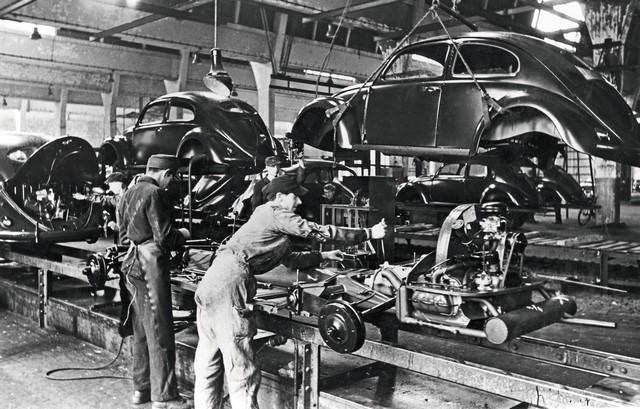 Il y a 75 ans à Wolfsburg : la production en série de la Coccinelle Volkswagen était lancée DB2020-NR00667-medium