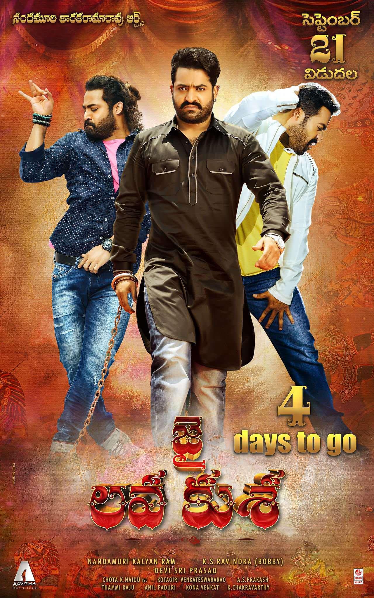 Jai Lava Kusa (2017) Dual Audio Hindi ORG 720p BluRay 1.5GB Download