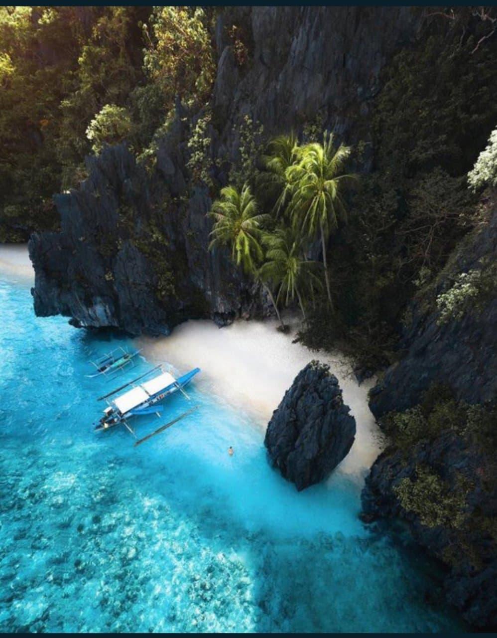 شواطيء الفلبين الخلابة بالصور