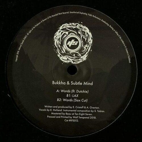 Bukkha & Subtle Mind - Words EP