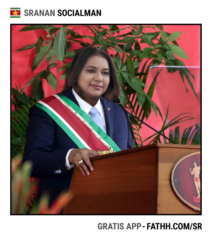 Sranan Socialman : De Nieuwe President
