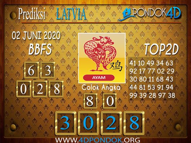 Prediksi Togel LATVIA POOLS PONDOK4D 02 JUNI 2020