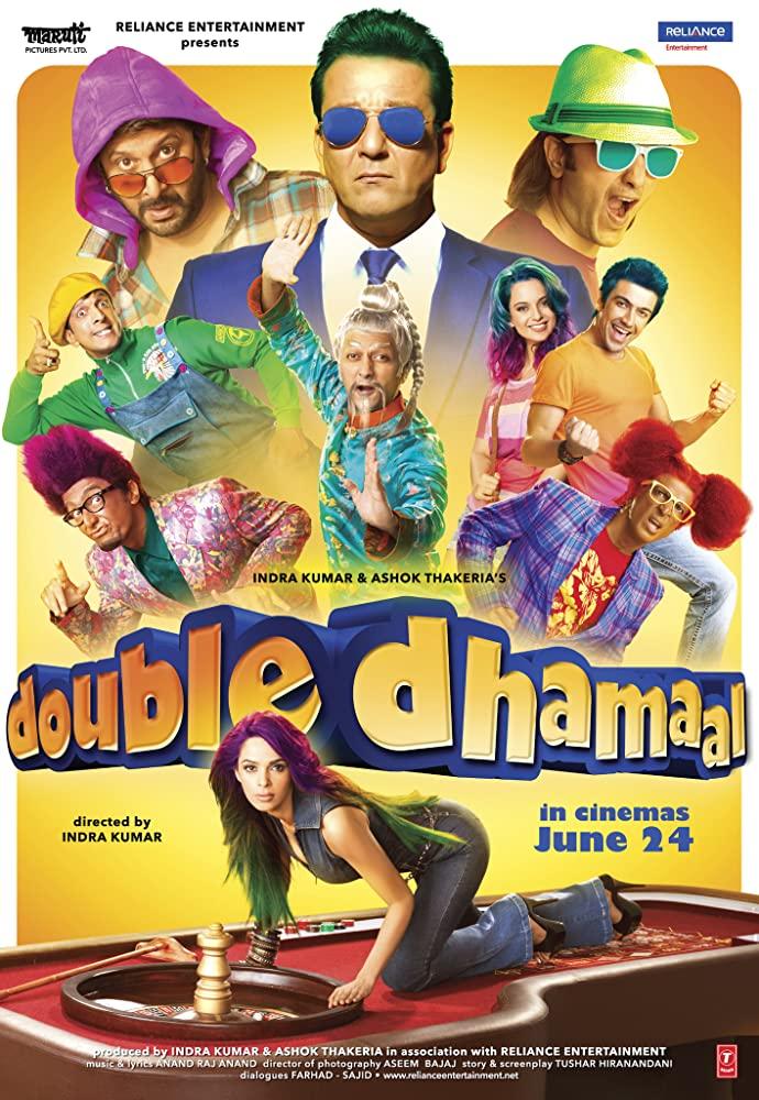 Double Dhamaal 2011 Hindi Movie 450MB BluRay ESubs Download
