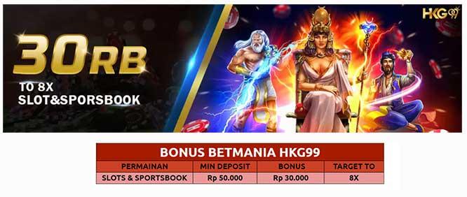 Bonus Slot 30 Ribu
