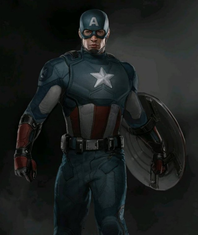 Captain America Winter Solider Concept Art