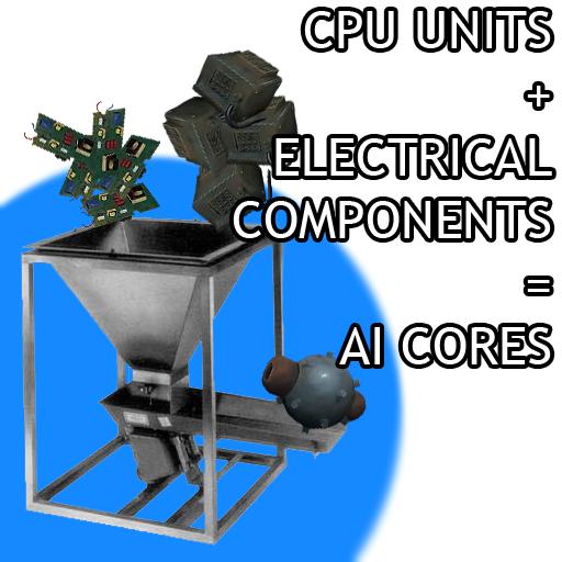 AI Cores from CPUs and ECs / ИИ ядра из ЦПУ и электрических компонентов!