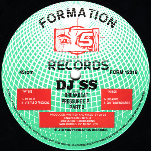 Download DJ SS - Breakbeat Pressure E.P. Part 2 mp3