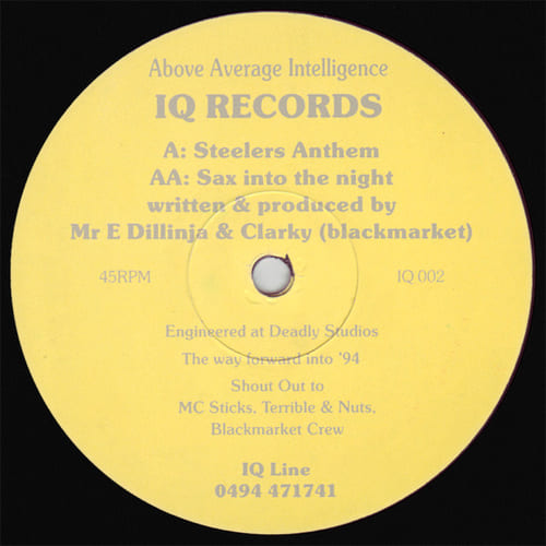 Download Mr E, Dillinja & Clarky - Steelers Anthem / Sax Into The Night mp3