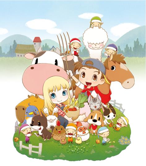 「牧場物語」系列首次在Nintendo Switch™平台推出全新製作的作品! 『牧場物語 橄欖鎮與希望的大地』 決定於2021年2月25日(四)發售! Mainvisual