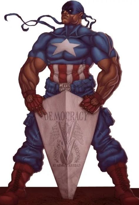 Несколько интересных фактов о чёрном Капитане Америке (Исайя Брэдли)
