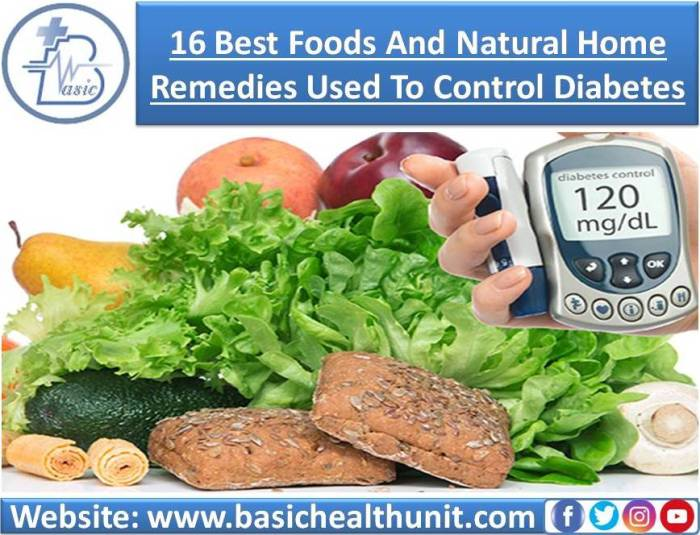 16 Best Foods And Natural Home Remedies Used To Control Diabetes
