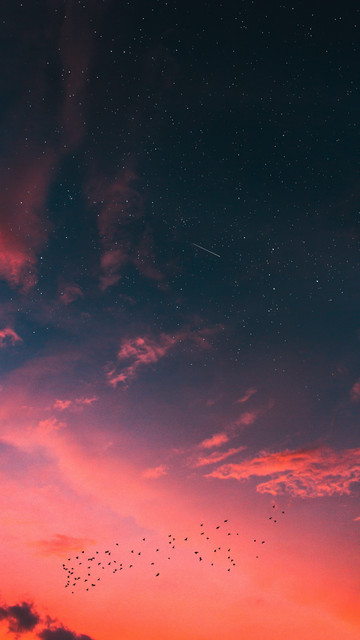 Wall-X-starry-sky-clouds-sunset-120716-1440x2560