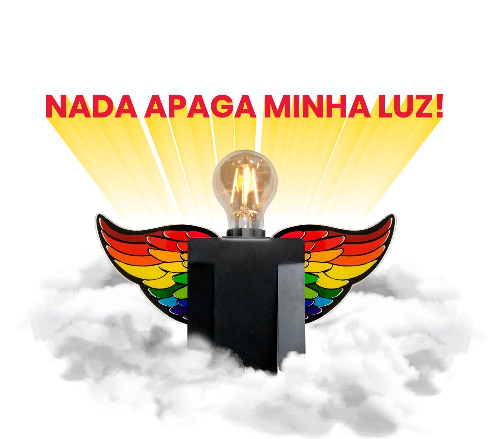 Luminária Abajur Zeus