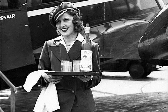 The world's first flight attendant Ellen Church