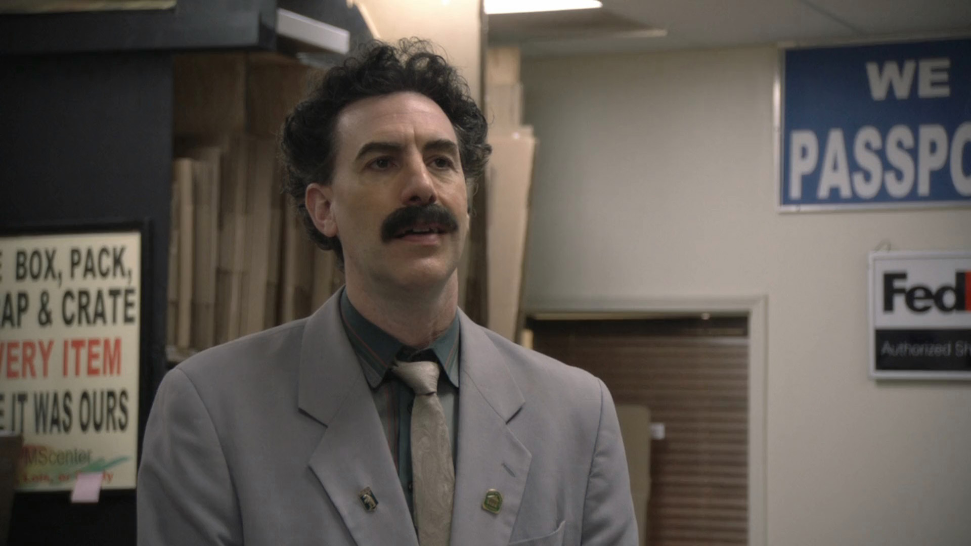 Borat 2: Subsequent Moviefilm | 2020 | WEB-DL | XviD | Türkçe Dublaj | m720p - m1080p | WEB-DL | Tek Link