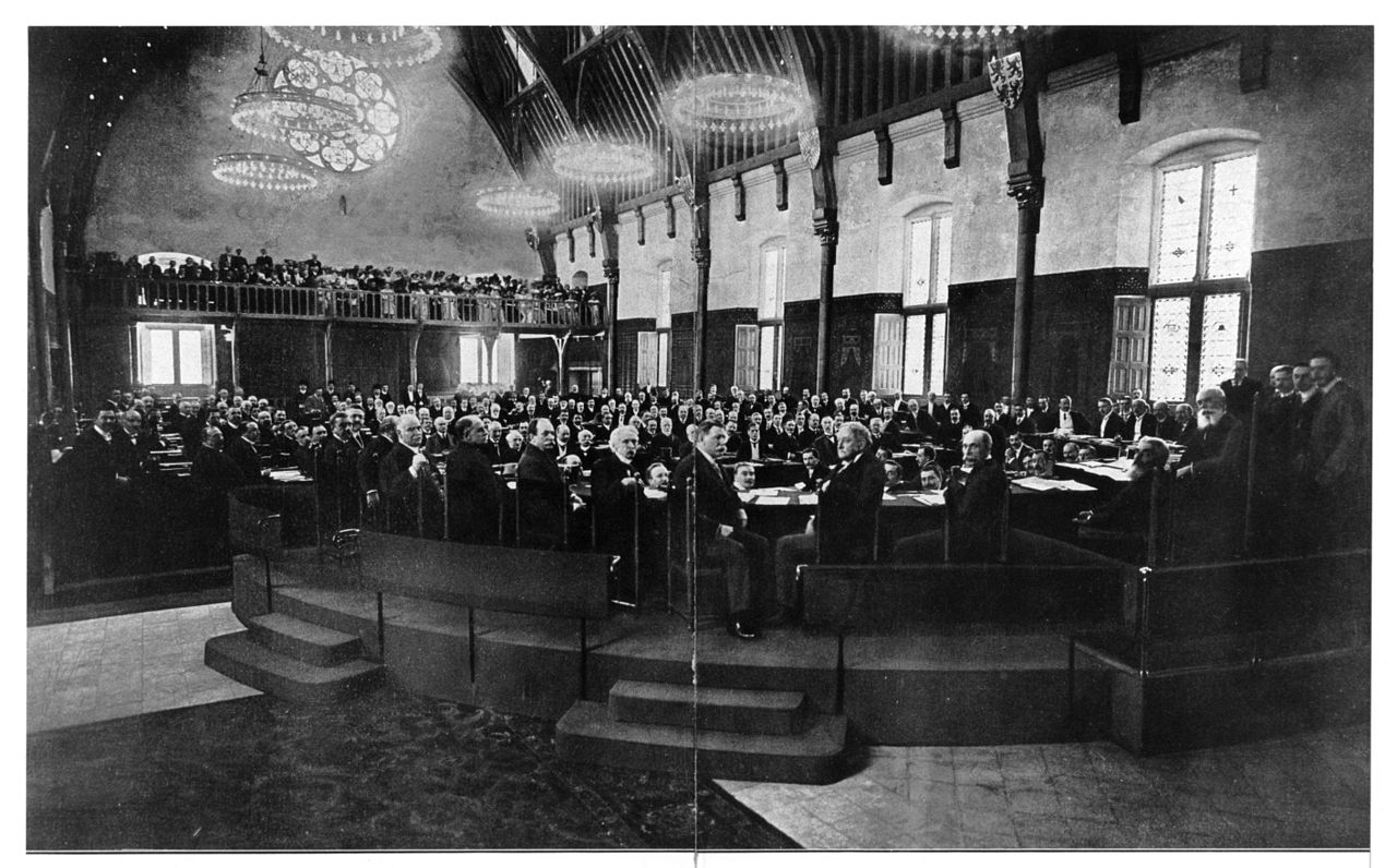 The Hague Conference in 1907.