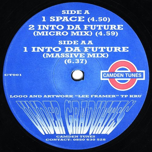 Under Graduates - Space / Into Da Future 1993