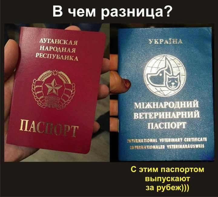 Україна і світ не визнають російські паспорти жителів окупованого Донбасу, - МЗС - Цензор.НЕТ 558