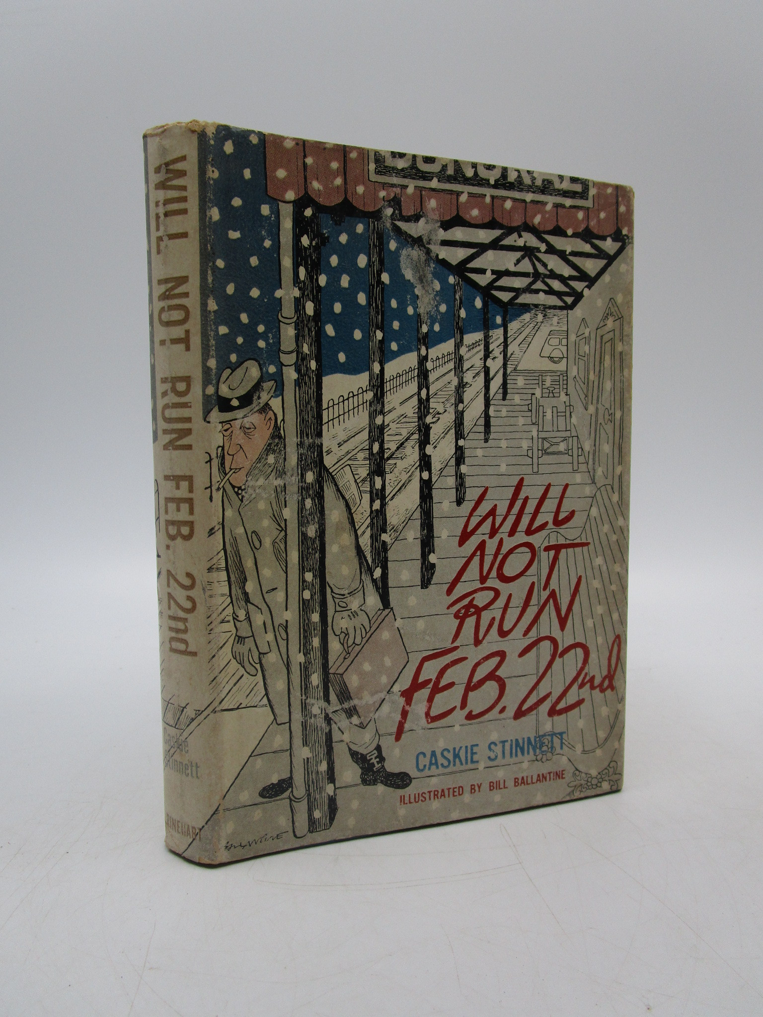 Image for Will Not Run February 22nd (Signed First Edition)