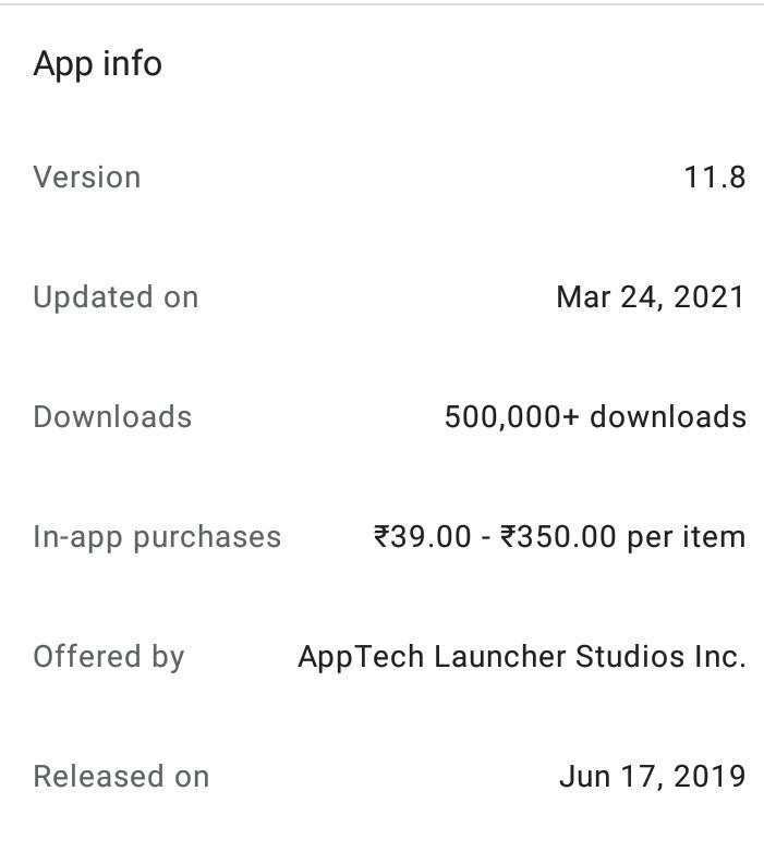 Alpha Hybrid app information