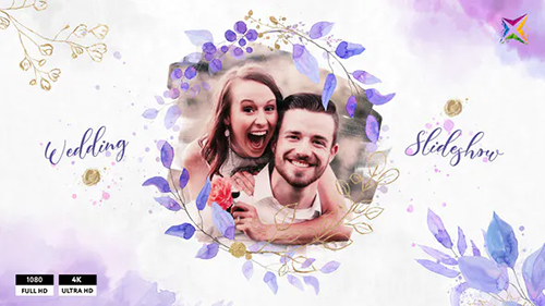 Floral Wedding Slideshow 30954331 - Project for After Effects (Videohive)