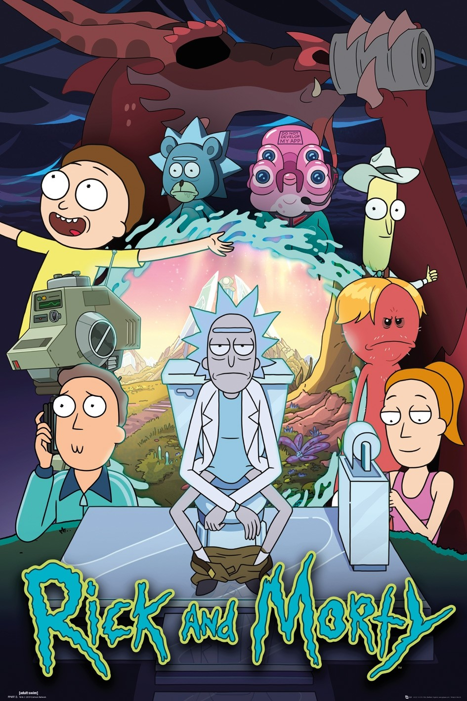 Rick and Morty   S04   Sub-Esp   1080p   x265 Image-search-1591667503961