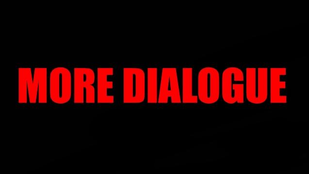 More Dialogue / Больше диалогов