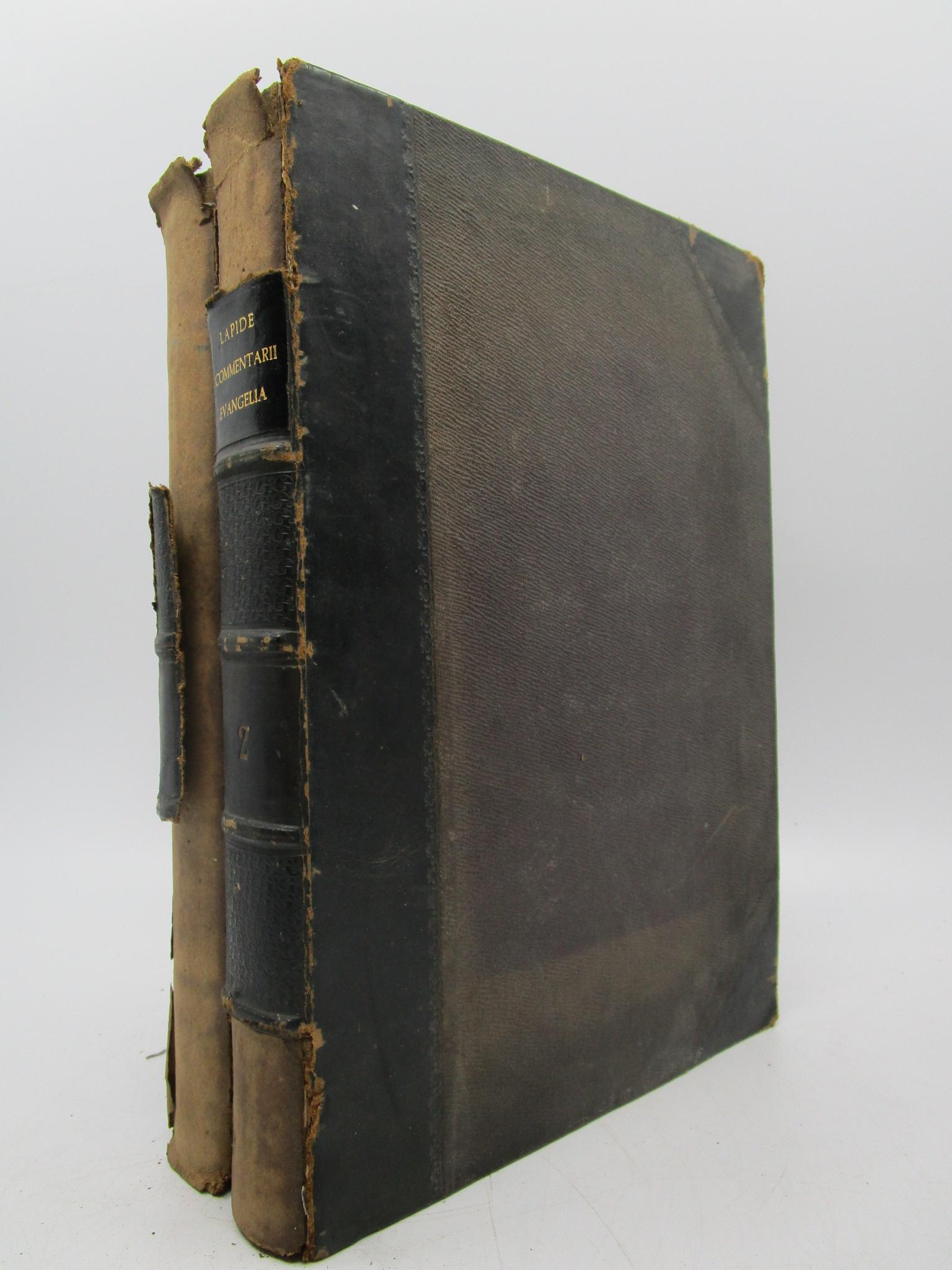 Image for R. P. C. Cornelii a Lapide E Societate Jesu Commentarii in Quatuor Evangelia (Complete Two Volume Set)