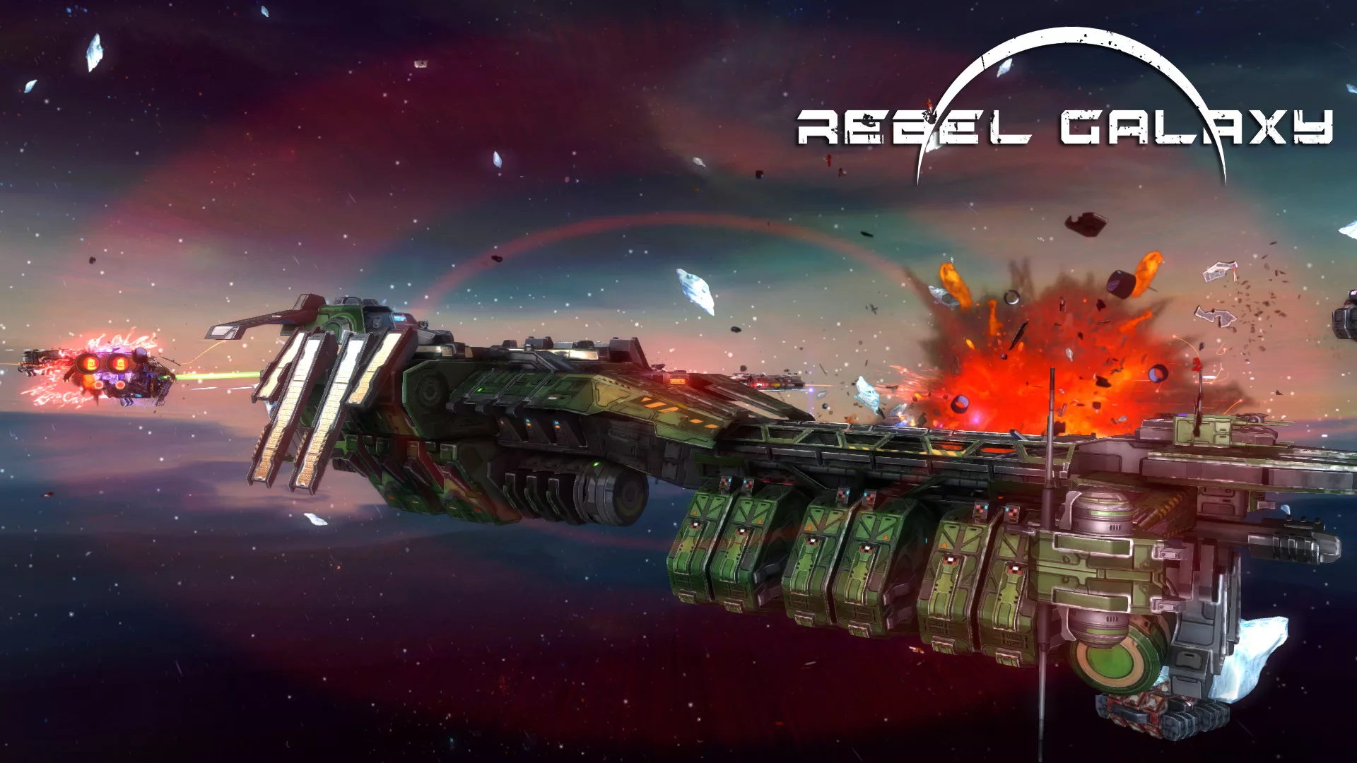 Rebel Galaxy Outlaw v1.09 (SpaceX/2019)