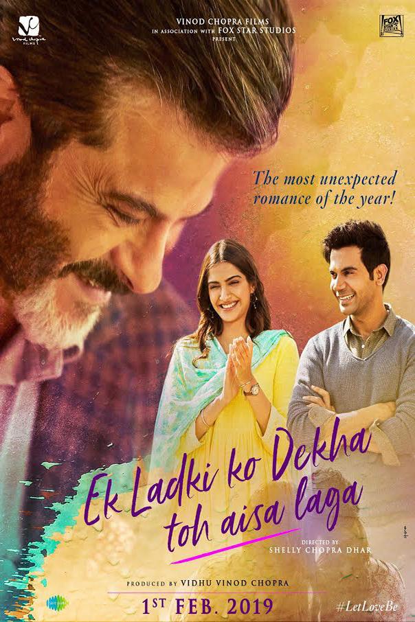 Ek Ladki Ko Dekha Toh Aisa Laga (2019) Hindi HDRip 720p