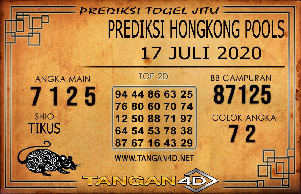 PREDIKSI TOGEL HONGKONG TANGAN4D 17 AGUSTUS 2020