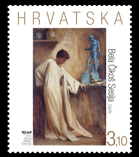 2013. year HRVATSKA-LIKOVNA-UMJETNOST-BELA-IKO-SESIJA-SAPFA