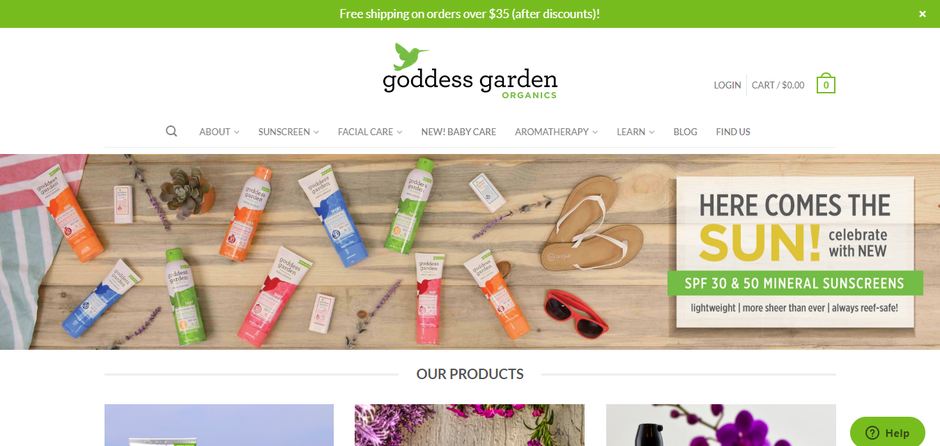 The Goddess Garden travel product recommended by Barbara Marks on Pretty Progressive.