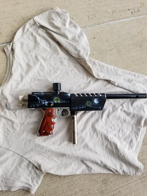 Paintball Mechanical Markers For Sale - Paintball