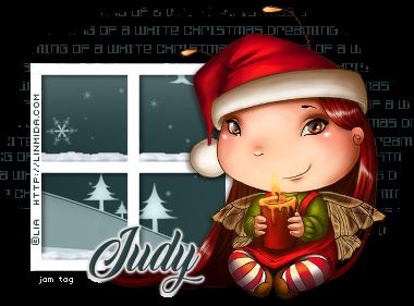 White Christmas Tutorial by Fiona