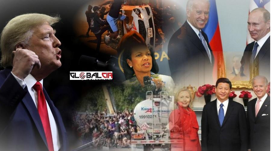 HAOS KOJI ODGOVARA DEMOKRATAMA, RUSIJI I KINI! Ko je muškarac koji se cisternom zaletio među demonstrante u SAD-u i šta se sinoć dešavalo širom Sjedinjenih Država?