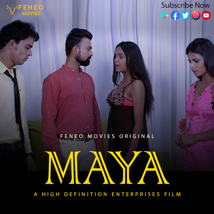 18+ Maya 2020 S01E08 Hindi Feneomovies Web Series 720p HDRip 240MB Watch Online