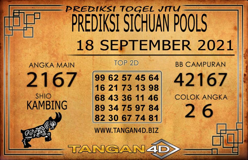 PREDIKSI TOGEL SICHUAN TANGAN4D 18 SEPTEMBER 2021