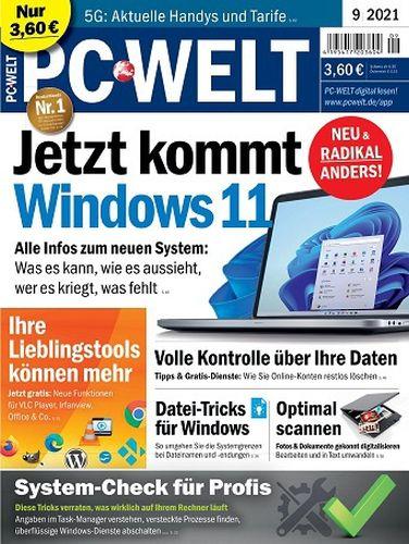 Cover: Pc Welt Magazin September No 09 2021