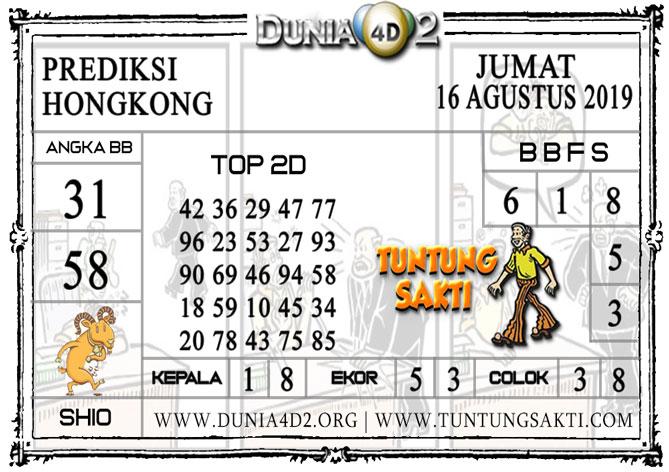 """Prediksi Togel """"HONGKONG"""" DUNIA4D2 16 AGUSTUS 2019"""