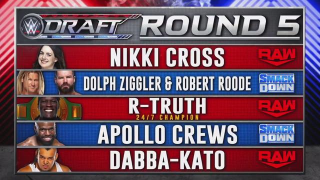 WWE Draft 2020 Ronda 5